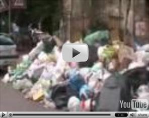 Visualizza il video dei Munnezza boys casoriani sull'emergenzarifiuti
